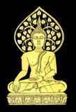 Złocisty Buddha Zdjęcie Royalty Free
