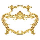 Złocisty element royalty ilustracja