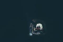 Złocisty górniczy metro Fotografia Stock
