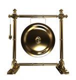 złocisty gong Obraz Stock