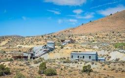 Złocisty jaru miasto widmo - Nevada Obrazy Royalty Free