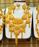złocisty jewellery Obrazy Royalty Free