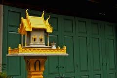 Złocisty Joss dom Tajlandia Zdjęcia Royalty Free