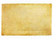 Złocisty konceptualny stary papier Obrazy Stock