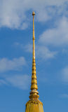 Złocisty pagodowy wata ulthai Fotografia Royalty Free