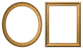 złocisty rama obrazek Fotografia Stock