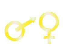 złocisty symbol Zdjęcie Royalty Free