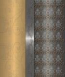 złocisty szary rocznik Zdjęcie Royalty Free