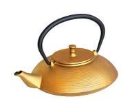 złocisty teapot Obrazy Stock