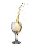 Złocisty wino zdjęcie stock