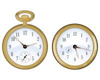 złocisty zegarek Fotografia Stock