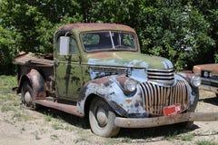 Złomowy samochód Fotografia Stock