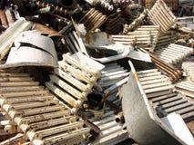 złomu metali Zdjęcia Stock