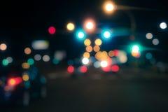 Z ostrość świateł Fotografia Royalty Free
