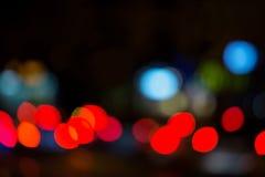 Z ostrość świateł ruchu Zdjęcie Stock