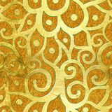 złota bezszwowy deseniowy ilustracji