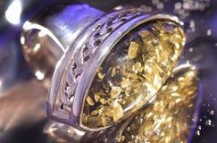 złota bransoletka Obraz Stock