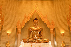 Złota Buddha ikona Fotografia Stock