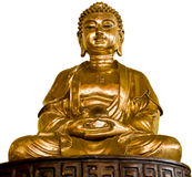 złota Buddha statua Zdjęcia Stock