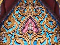 Złota dwuokapowa kaplica Obraz Royalty Free