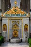 Złota fontanna Obraz Royalty Free
