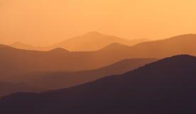złota góra Fotografia Royalty Free