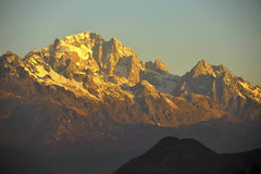Złota góra Obraz Stock