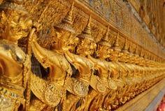 złota garuda statua Zdjęcie Royalty Free