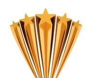 złota gwiazda Zdjęcia Royalty Free