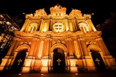 Złota katedra Zdjęcia Stock