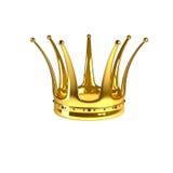 złota korona Obraz Stock
