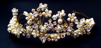 złota korona Zdjęcie Stock