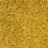 Złota mozaika Obrazy Royalty Free