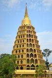 złota pagoda Obraz Royalty Free
