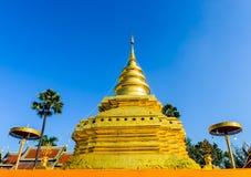 ZŁOTA pagoda Zdjęcia Stock