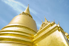 Złota pagoda Fotografia Royalty Free