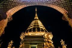 Złota pagoda Obrazy Royalty Free