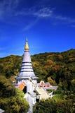 z?ota pagoda obraz royalty free