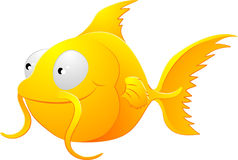 złota rybka clipart ilustracja Obraz Royalty Free