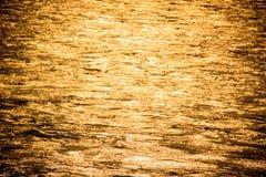 Złota rzeka Fotografia Stock