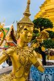 złota statua Zdjęcie Stock