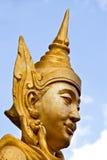 Złota statua zdjęcia royalty free