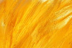 Złota tekstura Fotografia Royalty Free