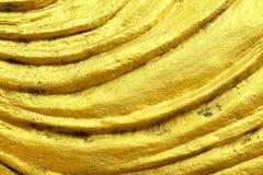 Złota warstwy tekstura Obraz Stock