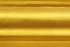Złota warstwy tekstura Fotografia Royalty Free