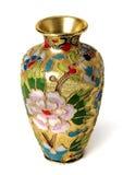 Złota waza Zdjęcie Royalty Free