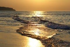 złota wody Fotografia Royalty Free
