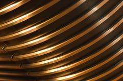 złote abstrakcyjnych linii Zdjęcia Stock