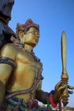 Złote idol statuy Zdjęcie Stock