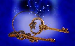 złote klucze Zdjęcie Royalty Free